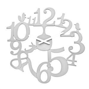 Koziol Nástěnné hodiny PI:P bílá