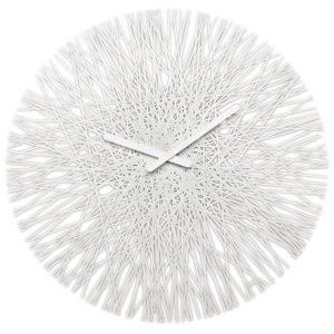 Koziol Nástěnné hodiny Silk bílá