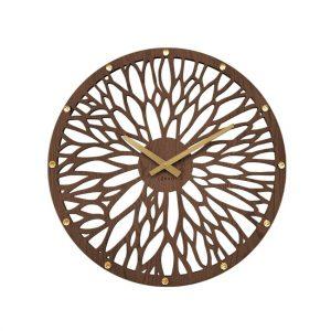Lavvu LCT1180 Nástěnné hodiny Wood