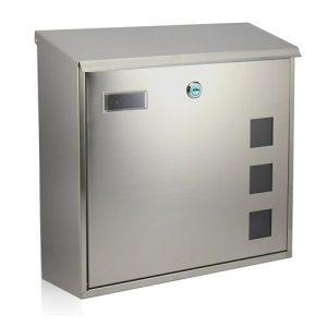RICHTER BK703.G Poštovní nerezová schránka Cube