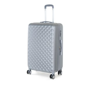 Pretty UP Cestovní skořepinový kufr ABS21 L