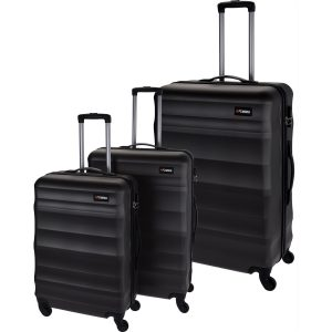 Sada skořepinových kufrů na kolečkách 3 ks