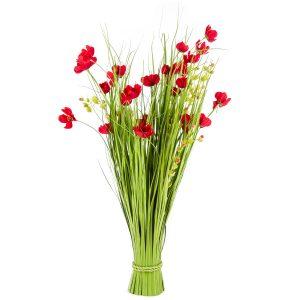 Vazba umělých lučních květin 80 cm