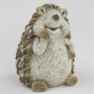 Zahradní dekorace Ježek s kamínky