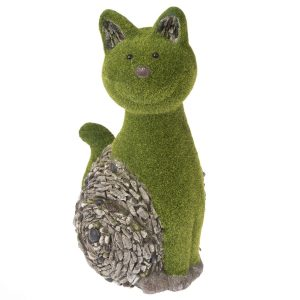 Zahradní dekorace Mechová kočka