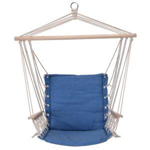 Závěsné houpací křeslo Comfortable modrá