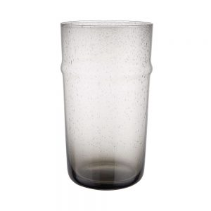 BYRON Sklenice 480 ml 6 ks - šedá