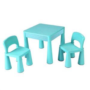 New Baby Dětská sada stolečku a židliček 3 ks