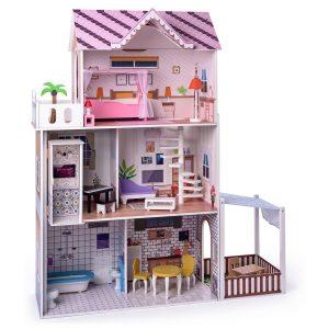 Woody Domeček pro panenky s výtahem Malibu