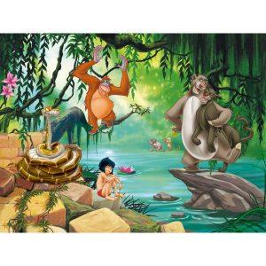 AG Art Dětská fototapeta XXL Kniha džunglí