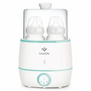 Ohřívač kojeneckých lahví TrueLife Invio BW Double bílý/zelený