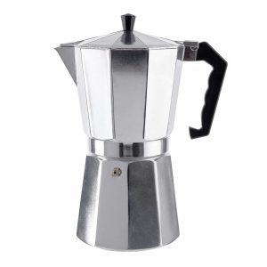 ESPERTO Kávovar 12 šálků - stříbrná