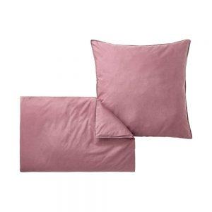 ORGANIC COTTON DREAM Povlečení 200 x 135 cm - sv. růžová