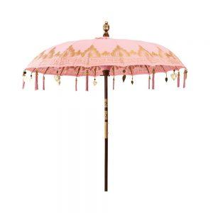 ORIENTAL LOUNGE Slunečník 180 cm - růžová
