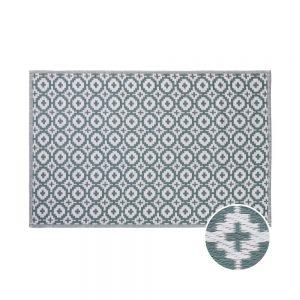 COLOUR CLASH Vnitřní a venkovní koberec etno 180 x 120 cm - šalvějová