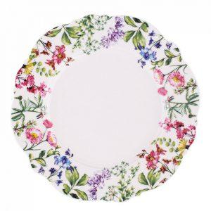 Altom Sada dezertních talířů Floral 21 cm