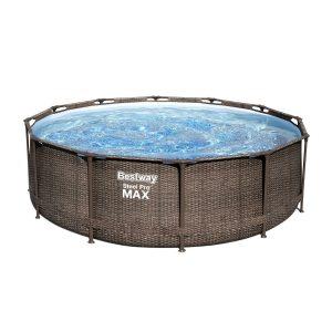 Bestway Nadzemní bazén Steel Pro MAX Ratan s filtrací a schůdky