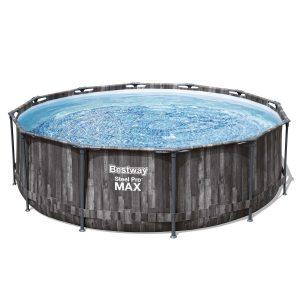 Bestway Nadzemní bazén Steel Pro MAX s filtrací a schůdky