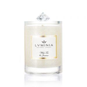 Přírodní vonná svíčka White Tea & Jasmine 260 g