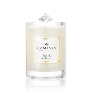 Přírodní vonná svíčka White Tea & Jasmine 90 g