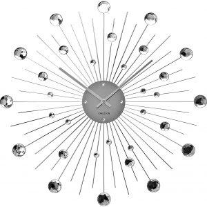 Moebel Living Krystalové nástěnné hodiny Crystal 50 cm