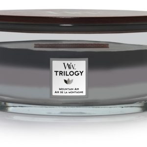 Vonná svíčka WoodWick Trilogy loď