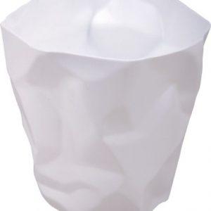 Culty Bílý odpadkový koš Crum