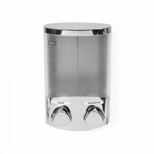 Dávkovač mýdla Compactor Duo RAN6016 2x310ml chrom plast