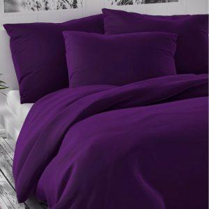 Kvalitex Saténové povlečení Luxury Collection tmavě fialová