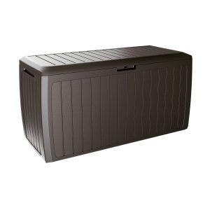 Zahradní úložný box Boxe Board hnědá