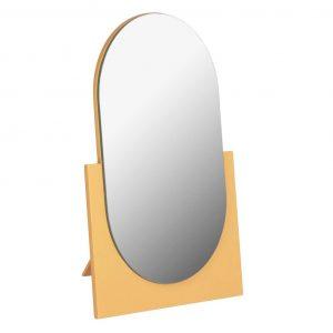 Žluté stolní zrcadlo LaForma Mica 17x25 cm