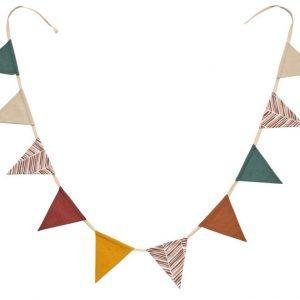 Látkový dekorativní řetěz LaForma Zalia 250 cm barevné praporky