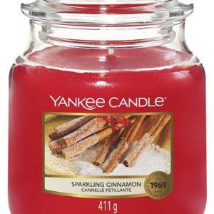 Střední vonná svíčka Yankee Candle Sparkling Cinnamon