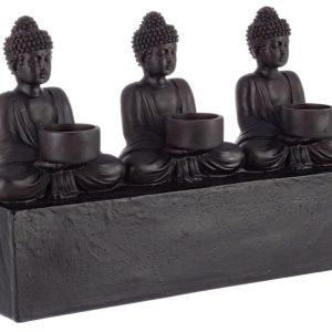 Hnědý svícen Bizzotto Buddha