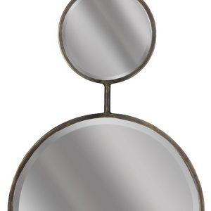 Hoorns Kovové závěsné zrcadlo Merigue 82 cm