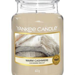 Velká vonná svíčka Yankee Candle Warm Cashmere